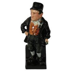 Royal Doulton Bill Sikes Figurine Based on Dickens' Character from Oliver Twist
