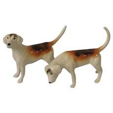 Beswick Foxhound Dog Figurines