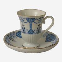 Avon European Tradition Medici Demitasse Teacup and Saucer