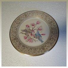 Lenox Boehm Mountain Bluebird Limited Edition Collector Plate