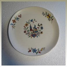 Crooksville Iva-lure Dairy Maid Chop Plate or Platter