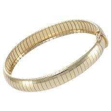 Tiffany & Co. Herringbone Chain Bracelet 14k Yellow Gold
