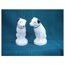 Vintage R C A Victor Dog Salt & Pepper Shakers