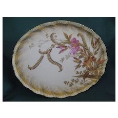 1800's Martial Redon Limoges Porcelain Dresser Tray