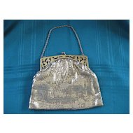 Vintage Whiting and Davis Gold Mesh Link Purse