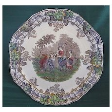 "Copeland Spode ""Byron Series"" Scenic Plate"
