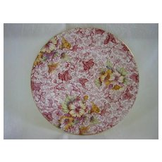 "English China Chintz Plate 6 3/4"" Royal Winton ""Dorset Pattern"""