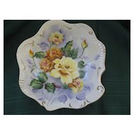 Vintage Porcelain Bowl Hand Painted