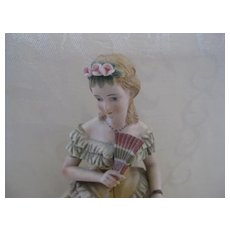 Lefton China Lady Figurine