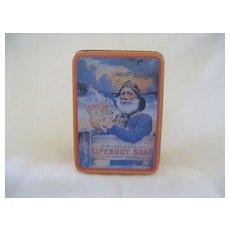 Vintage Lifebuoy Soap Advertising Tin Box