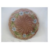 Small Floral Majolica Plate