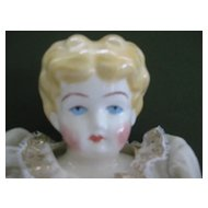 "Vintage China Head 17""  Doll"