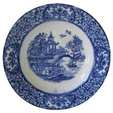 Flow Blue Bowl - Old Alton Ware - England