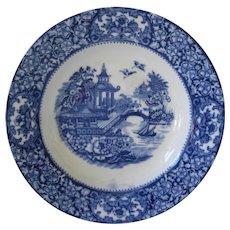Flow Blue Bowl - Old Alton Ware - England