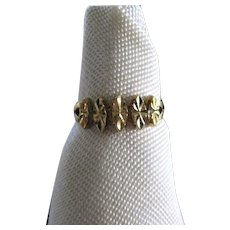 Vintage 14K Gold Ring - Marquise Cut
