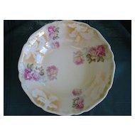 Beautiful Porcelain China  Bowl Victorian Roses