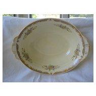 "Vegetable Bowl Grindley Floral Pattern ""Ludlow"" 1940's"
