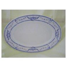 Lavender Transferware Bavarian Platter