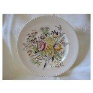 """Plate Johnson Bros. Pattern """"Garden Bouquet"""""""