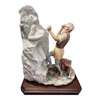 Capodimonte Michelangelo Figurine The Dying Slave Tomb Pope Julius II  ~ Sandro Maggioni ~ MUSEUM-QUALITY