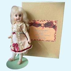 Antique Bisque Reproduction Mignonette Doll Darlene Lane S&H 886 UFDC Souvenir