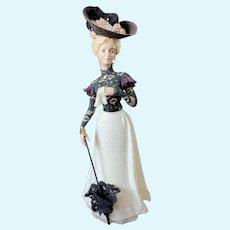 OOAK Jamalea Corre Handmade Doll Figurine Victorian Solvang Lillie MINT
