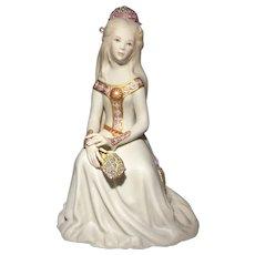 Cybis Rapunzel Figurine Pink Version with Mirror LE 1000