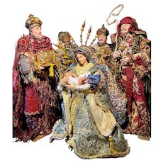 Mark Roberts Florentine Nativity, Set of 5, Limited Edition 34/500