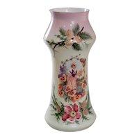 Victorian Era Bristol Glass Vase