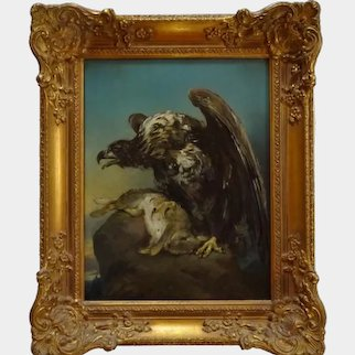 Eagle - 19th century painting.