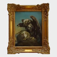 Eagle - 19th century painting - Austria