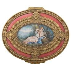 French jewelery box, 19th century