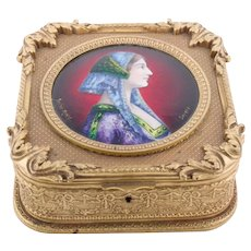 Jewelry Box of Limoges, France