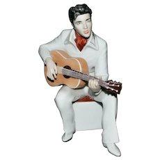 Elvis Presley - Royal Dux, Porcelain statue