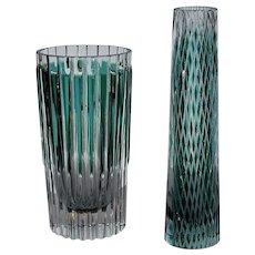 Two Art Deco Vases - Josef Pravec, London