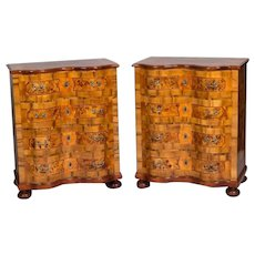 Pair Baroque  chest of drawers - Shipping Free