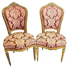 Pairs - chairs France - 19th century