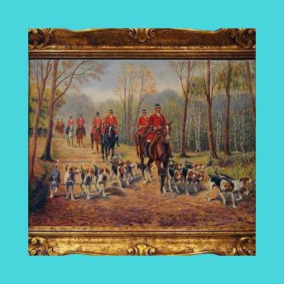 Hunting scene, 1920