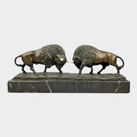 Bronze sculpture of Bison - Pr. Jensen