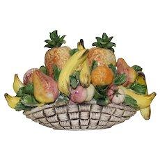 Capodimonte - Fruit bowl