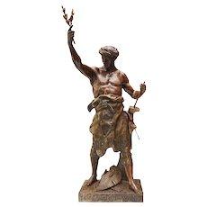 Allegorical statue -Émile Louis Picault ( French)