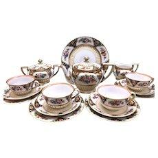 Rare Noritake Tea Set C1908