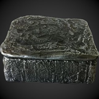 PAUL EVANS Cast Aluminum Box, #202