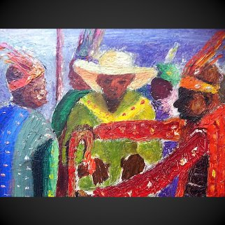 Early Haitian Painting, Desrosiers 1961