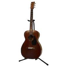 Vintage 1958 Martin 0-15 Acoustic Guitar