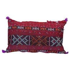 Vintage Moroccan Decor Pillow - Moroccan Berber Pillow