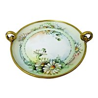 Hutschenreuther Bavaria Daisy Motif Serving Dish (Signed c.1887-1910)