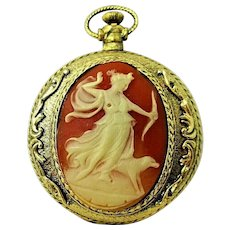 Vintage Max Factor Cameo Enchanted Forest Compact