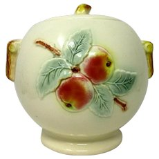 R. R. P. Co. Cookie Jar * Peaches * Roseville Ohio  Pottery