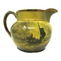 Ridgways Pitcher - 'Royal Vistas Ware' - Famous Artists - England